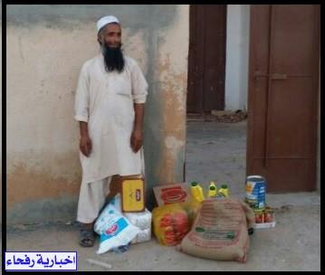 جمعية البر الخيرية بقرية ابن شريم توزع السلال الرمضانية على مستفيديها